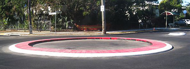 Rubber Roundabout Installation